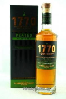 1770 Glasgow Release No. 1 Peated 46%vol. 0,5l