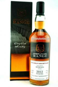 Benriach 2012-2019 Port Wood Finish Spirit & Cask Range 52,0% vol. 0,7l