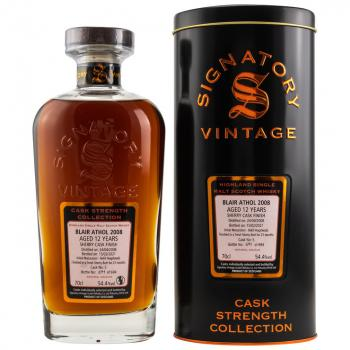 Blair Athol 12 Jahre 2008-2021 Cask Strength Collection 54,4% vol. 0,7l