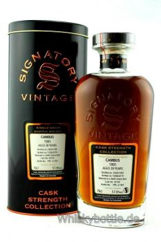 Cambus 28 Jahre 1991-2019 Sherry Cask Strength # 34109 Signatory Vintage 57,8% vol. 0,7l