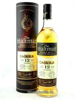 Caol Ila 12 Jahre 2007-2019 The Maltman 53,3% vol. 0,7l