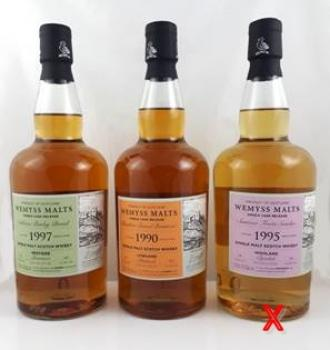 Clynelish Summer Fruits Sundae 24 Jahre 1995-2020 Wemyss 46,0% vol. 0,7l