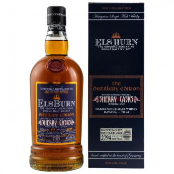 Elsburn Distillery Edition 2020 Batch 002 - 45,9% vol. 0,7l