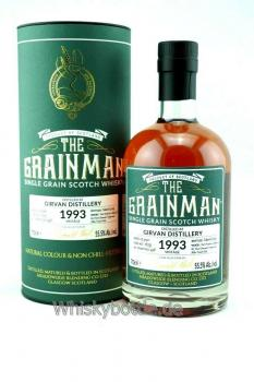 Girvan 25 Jahre 1993-2019 Port Finish The Grainman 55,5% vol. 0,7l