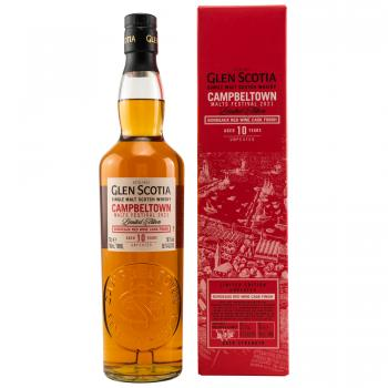 Glen Scotia 10 Jahre Festival Malt 2021 Unpeated  56,1% 0,7l