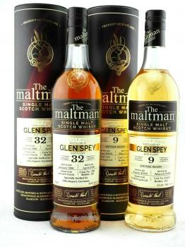Glen Spey 32 Jahre 1988 - 2020 Moscatel Finish The Maltman 43,8% vol. 0,7l