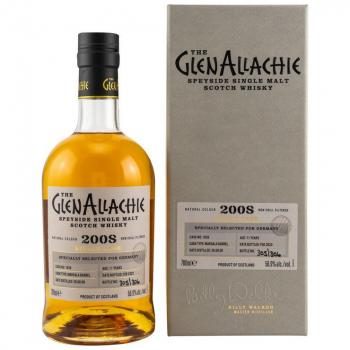 Glenallachie 11 Jahre 2008-2020 # 1836 Marsala Single Cask 56,9% vol. 0,7l