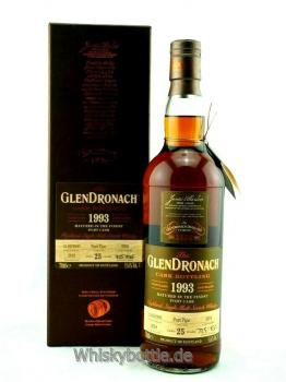 Glendronach 25 Jahre 1993-2019 Port Pipe 55,6% vol. 0,7l