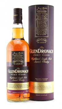 Glendronach Port Wood  46,0%vol. 0,7l