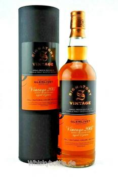 Glenlivet 11 Jahre 2007/2018 Sherry Casks Small Batch Edition #3 Signatory Vintage 48,1% vol. 0,7l