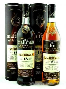 Inchgower 18 Jahre 2001-2019 The Maltman Sherry Butt 50,1% vol. 0,7l