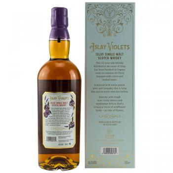 Islay Violets  33 Jahre Cognac Cask Finish Elixier Distillers 46,2%vol. 0,7l