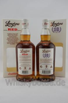 2er Bundle Longrow Red 11J. 55,9% vol. & Longrow 18J. Release 2018 Limited Edition Sherry Cask 46,0% vol. 1,4l