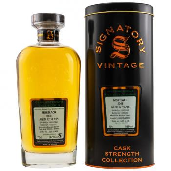 Mortlach 12 Jahre 2008-2021 Cask Strength Collection 56,9% vol. 0,7l