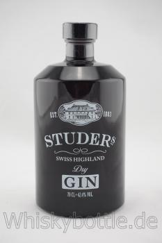 Studers Swiss Highland Dry Gin 42,4% vol. 0,7l