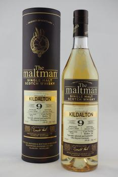 Kildalton The Maltman 9 Years 2008/2018 - 59,4%vol.
