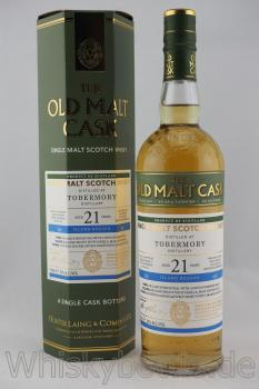 Tobermory 1996/2017  21 Jahre Hunter Laing The Old Malt Cask 50,0% vol. 0,7l