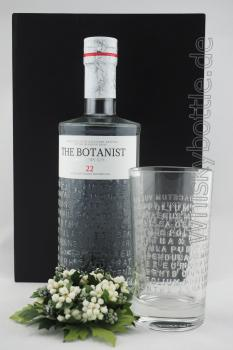 Bruichladdich The Botanist Islay Dry Gin 46,0% vol. 0,7l + The Bodanist Longdrinkglas