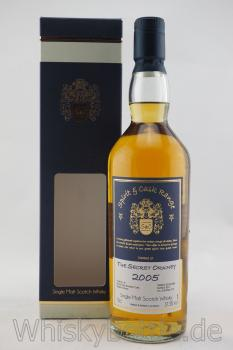 The Secret Orkney 2005/2017  Spirit & Cask Range 57,5% vol. 0,7l