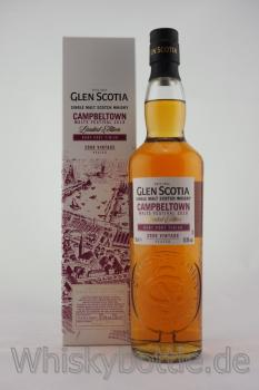 Glen Scotia Campbeltown Malts Festival 2018 Ruby Port Finish 2008 Vintage 57,8%vol. 0,7l