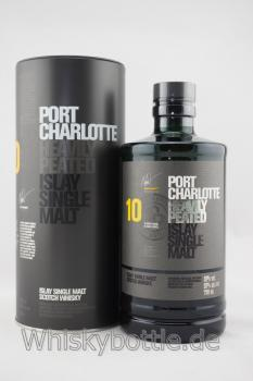 Bruichladdich Port Charlotte 10 Jahre 2018 Heavily Peated 50,0% vol. 0,7l