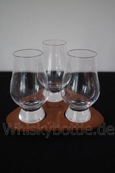 Tasting Set mit 3 The Glencairn Glass + 1 Tablett von Stölzle