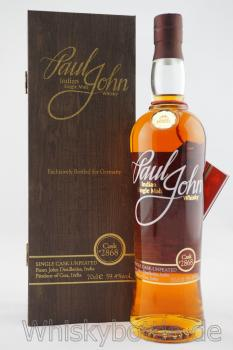 Paul John Single Cask Unpeated #2868 59,4% vol.0,7l