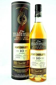 Port Charlotte 10 Jahre 2008-2018 The Maltman
