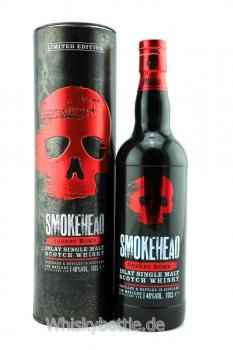 Smokehead Sherry Bomb  Release 2019 Limited Edition 48,0% vol. 0,7l