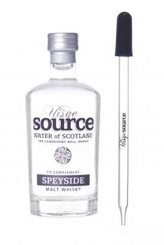 Uisge Source Speyside Wasser 95 ml plus Gratispipette