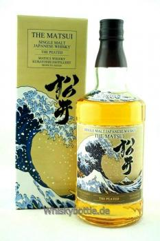 The Matsui Single Malt Whisky The Peated 48,0% vol.0,7l
