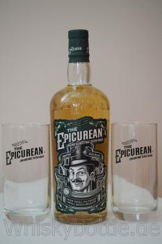 The Epicurean Lowland Blended Malt Douglas Laing 46,2%vol. 0,7 + 2 Gläser