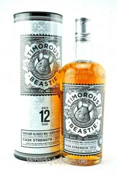 Timorous Beastie 12 Jahre Cask Strength 54,4% vol. 0,7l