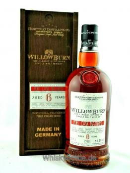 Willowburn 6 Jahre Limited Exclusive Edition 56,2%vol. 0,7l