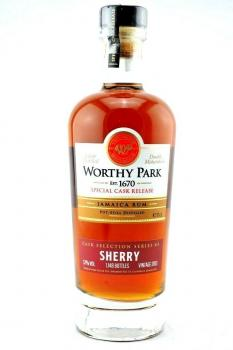 Worthy Park Spezial Cask Sherry 2018 57,0% vol. 0,7l