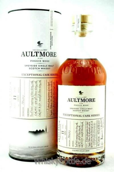 Aultmore 11 Jahre Exceptional Cask Series Oloroso Sherry Cask
