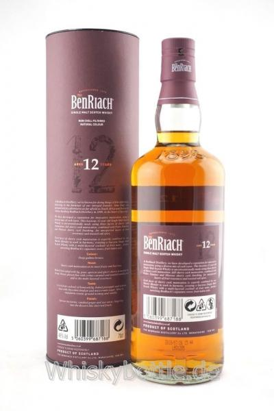 Benriach 12 Jahre Sherry Wood 46,0% vol. 0,7l