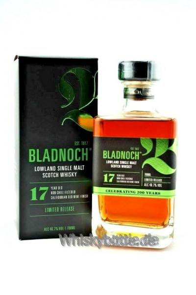 Bladnoch 17 Jahre Californian Red Wine Finish 46,7% vol. 0,7l