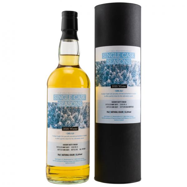 Caol Ila 9 Jahre 2011-2021 Single Cask Seasons Winter Sherry Butt Finish 52,6% vol. 0,7l
