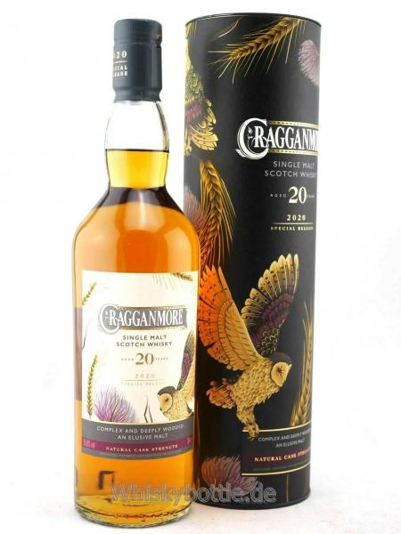 Cragganmore 20 Jahre Special Release 2020Cask Strength 55,8% vol. 0,7l