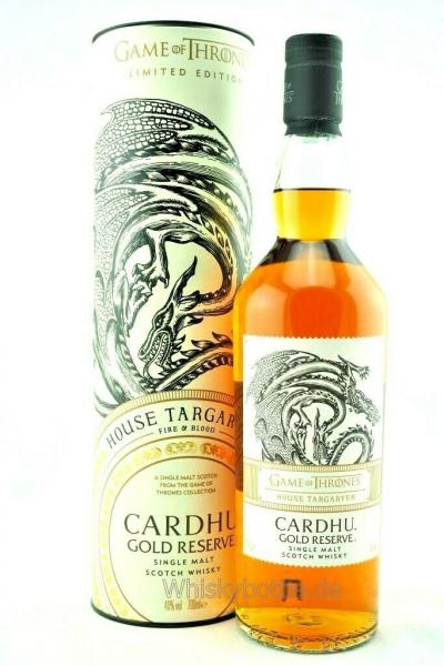 Game of Thrones - House Targaryen - Cardhu Gold Reserve