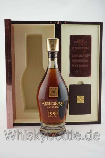 Glenmorangie Grand Vintage 1989 Single Malt Whisky 43,0% vol. 0,7l