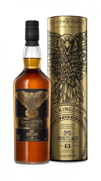 Mortlach 15 Jahre 2019 Six Kingdoms - Game of Thrones 46% vol. 0,7l