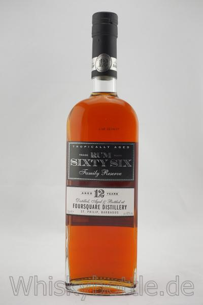Foursquare Sixty Six Rum 12 y.o. Family Reserve 43,0% vol. 0,7l