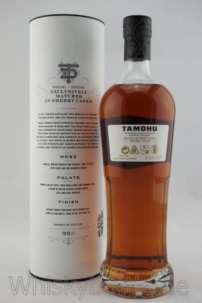 Tamdhu Batch Strength No.3  58,3% vol. 0,7l