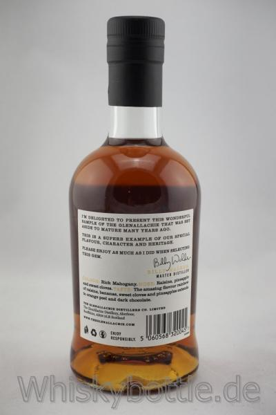GlenAllachie 1990/2018 Cask #2517 Sherry Butt 50th Anniversary 54,6% vol. 0,5l