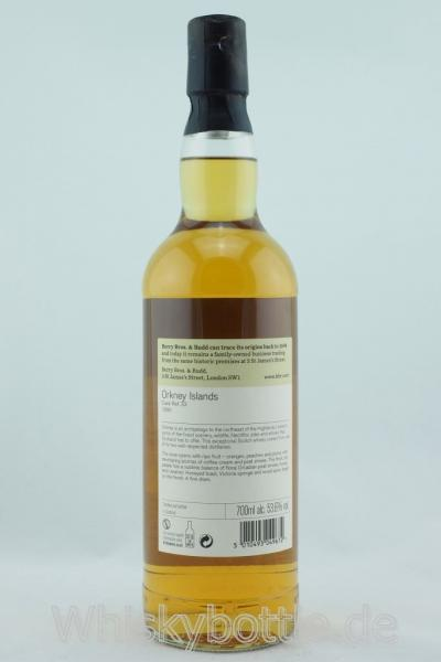 Orkney 18 Jahre 1999-2018 Butt No.33 Berry Bros & Rudd 53,6% vol. 0,7l