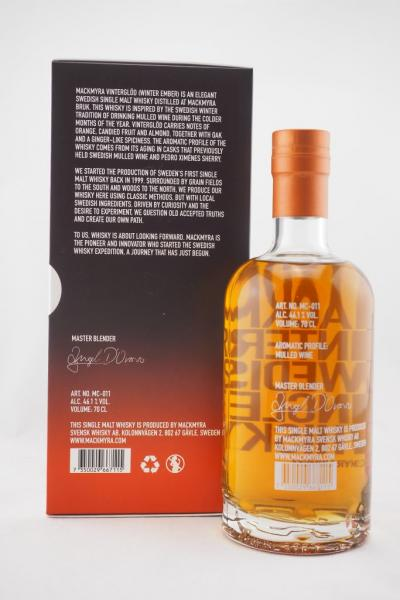 Mackmyra Vinterglöd Single Malt  46,1% vol. 0,7l