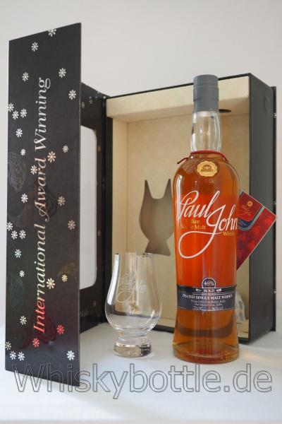 PAUL JOHN BOLD SINGLE MALT WHISKY 46,0% vol. inkl. Glas