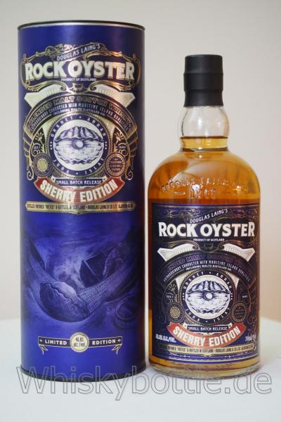 Rock Oyster Sherry Edition 46,8% vol. 0,7l